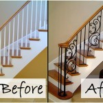 Wooden Balusters Replaced With Iron