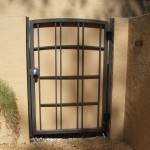 Craftsman Styled Privacy Gate