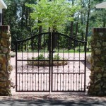 Mediterranean Styled Courtyard Gate