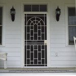 Security Door with Arch