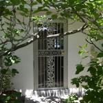 Security Door with Oak Leaf Castings